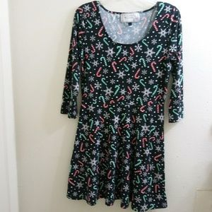 With Love Derek Holiday Dress Size Large